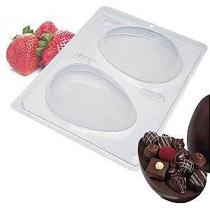 Forma para Chocolate Ovo de Páscoa 250g Forma Simples Ref. 141 BWB 5unids