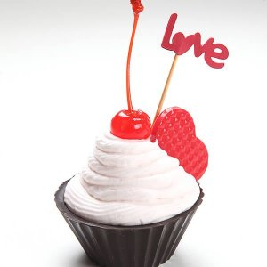 Forma para Chocolate com Silicone CupCake Ref. 1339 BWB 1unid