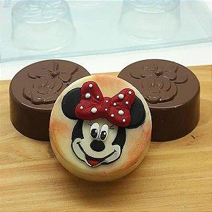 Forma para Chocolate com Silicone Pão de Mel Pequeno Minnie 80g Ref. 12010 BWB Licenciada Disney 1unid