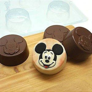 Forma para Chocolate com Silicone Pão de Mel Pequeno Mickey 80g Ref. 12009 BWB Licenciada Disney 1unid