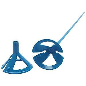 Suporte para Bexiga Pega Balão Azul Sólido Ref. 9492 BWB 10unid