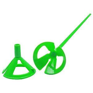 Suporte para Bexiga Pega Balão Verde Sólido Ref. 9495 BWB 10unid