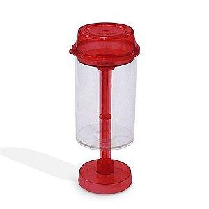 Push PopCake Vermelho Ref. 699 BWB Pote Bolo de Camadas Bolo no Pote Injetável 10unid