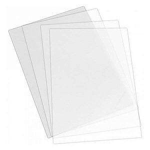 (50unids) Chapa de Acetato 30 micras, Folha de Acetato A4 21x30cm 0.30mm, Plastico Acetato 0,30mm, Visor Acetato