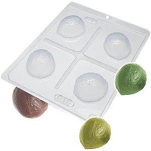 Forma para Chocolate com Silicone Trufa Limão 45g Ref. 819 BWB 1unid
