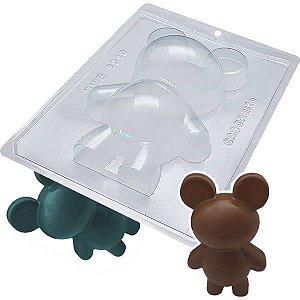 Forma para Chocolate com Silicone Urso Ursinho 500g Ref. 9910 BWB 1unid