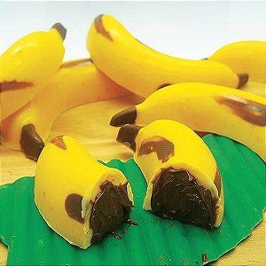 Forma para Chocolate com Silicone Banana Especial 35g Ref. 9712 BWB 1unid
