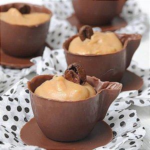 Forma para Chocolate com Silicone Xícara e Pires 10g Ref. 1058 BWB 1unid