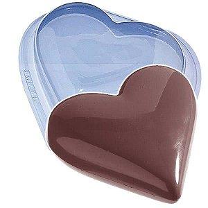 Forma para Chocolate com Silicone Coração 1kg Ref. 47 BWB 1unid
