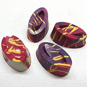 Forma para Chocolate com Silicone Bombom Detalhado2 26g Ref. 9569 BWB 1unid