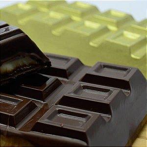 KIT (5pçs) Forma Barra de Chocolate 300g 9664 Silicone BWB