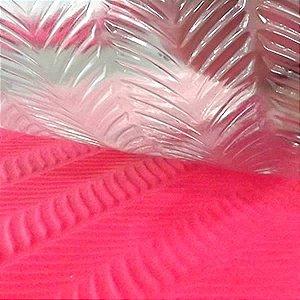 Placa de Textura 50cm x 24cm Plumas Ref. 9377 BWB 1unid
