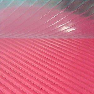 Placa de Textura 50cm x 24cm Ondas Ref. 9383 BWB 1unid