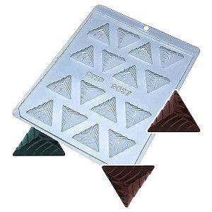 Forma para Chocolate Bombom Detalhado6 8g Forma Simples Ref. 9537 BWB 5unids