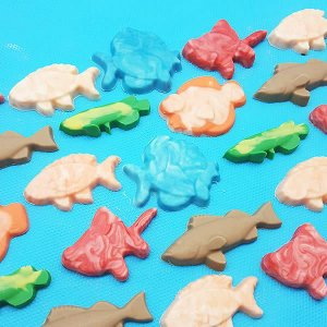 Forma para Chocolate Peixes 1 Forma Simples Ref. 9294 BWB 5unids