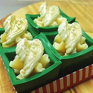 Forma para Chocolate Aplique Anjinho 2g Forma Simples Ref. 9731 BWB 5unids