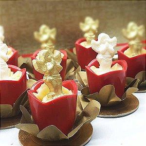 Forma para Chocolate Anjinho Rezando 3g Forma Simples Ref. 9732 BWB 5unids