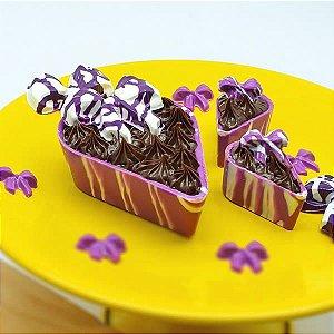 Forma para Chocolate Laço 10g Forma Simples Ref. 9788 BWB 5unids