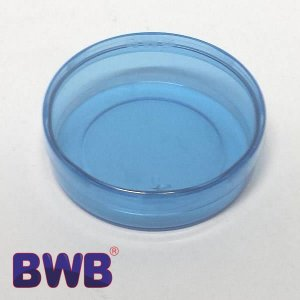 Latinha Azul Pote Translucido Ref. 9345 BWB 10unid