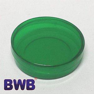 Latinha Verde Pote Translucido Ref. 9351 BWB 10unid