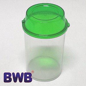 Pote Multiuso Verde Temperos Lembrancinhas Doces Ref. P5020 BWB 4unid