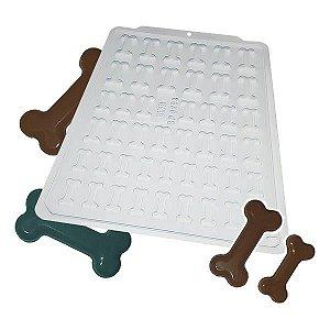 Forma para Chocolate Semiprofissional 9299 Osso Dog Ref. 3551 BWB 5unid