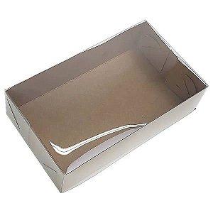 KRP-1 KRAFT (12x7x3 cm) Embalagens Plástico 10unid