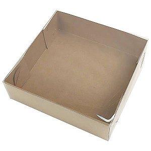 KRP-13 KRAFT (13x13x4 cm) Caixa para Embalagem 10unid