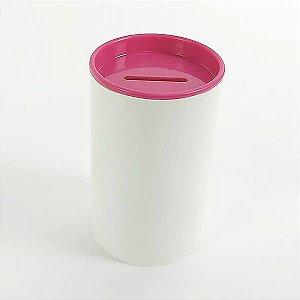 Cofrinho de Plástico Pink 10unid Festas