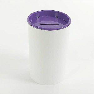 Cofrinho de Plástico Roxo 10unid Festas