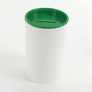 Cofrinho de Plástico Verde Escuro 10unid Festas
