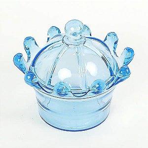 Mini Coroa para Lembrancinha Azul 10unid Festas