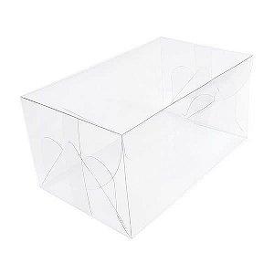 (5pçs) PX-1 (17x10.5x8.5 cm) Caixa de Acetato