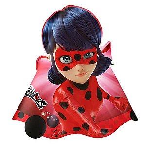 Chapéu de Aniversário Miraculous Ladybug 8unid Regina Festas