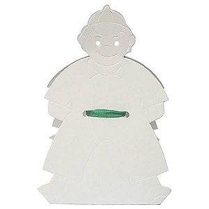 DV-5 Menino (8.5x8.5x4 / 15 cm) Caixa para Pintar Criança Kids 10unid