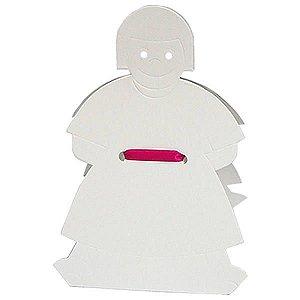 DV-6 Menina (8.5x8.5x4 / 15 cm)  Caixa para Pintar Criança Kids 10unid