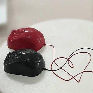 Forma para Chocolate com Silicone Mouse Computador Rato 100g Ref. 9841 BWB 1unid