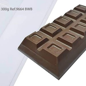 KIT (2pçs) Barra De Chocolate 300g 9664 Forma Silicone BWB