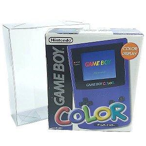 Console-2 (0,20mm) Caixa de Proteção Case CaixaBox Console Game Boy, Color Caixa Protetora para Console GBC 1unid
