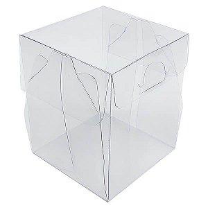 PX-13 (7,5x7,5x9) cm 10und Caixa de Acetato Transparente