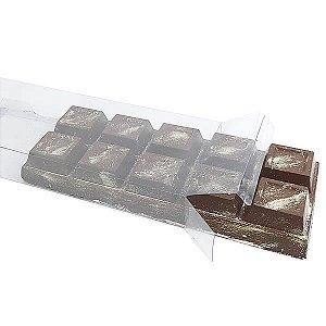 PX-3647 Caixa para Barra de Chocolate 1kg BWB 10unids Caixa de Acetato