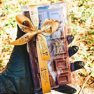 PX-9664 Caixa para Barra de Chocolate 300g BWB 10unids Caixa de Acetato