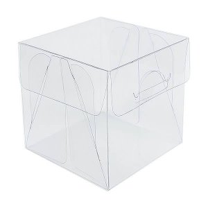 PX-202 (6x6x6) cm 10und Caixa de Acetato Transparente
