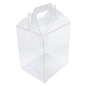 PX-61 (9x7,5x15) cm 10und Maleta Embalagem de Plástico