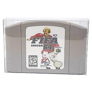 Games-2 (0,30mm) Caixa Protetora para Cartucho Loose Nintendo64 N64 10unid