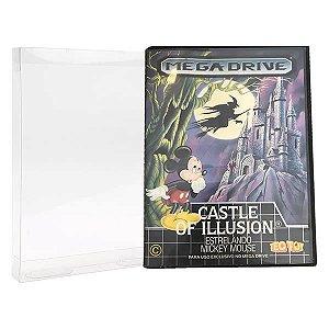 Games-3 (0,30mm) Caixa Protetora para CaixaBox Case Mega Drive, Master System, 32X e Game Gear 10unid