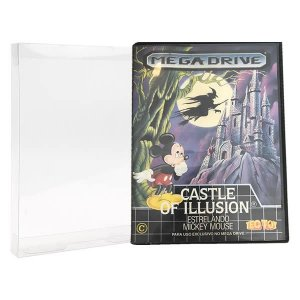 Games-3 (0,20mm) Caixa Protetora para CaixaBox Case Mega Drive, Master System, 32X e Game Gear 10unid