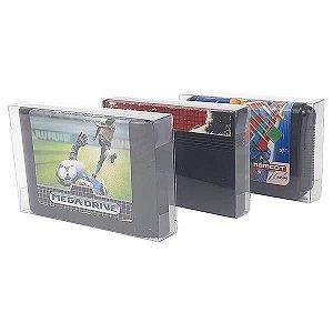 Games-6 (0,20mm) Caixa Protetora para Cartucho Loose Mega Drive, Loose Master System 10unid