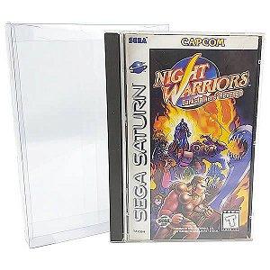 Games-26 (0,20mm) Caixa Protetora para Caixabox Case Sega Saturn e Sega CD 10unid