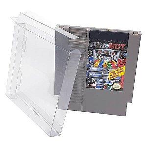 Games-9 (0,20mm) Caixa Protetora para Cartucho Loose Nintendinho 72pinos Nes 10unid
